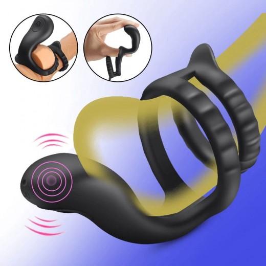 Penis Ring Vibrator Delayed Ejaculation Rpa